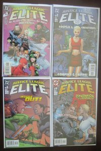 Justice League Elite Comics Set # 1 - 12 - 8.0 VF - 2004