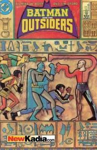 Batman and the Outsiders (1983 series) #17, NM- (Stock photo)