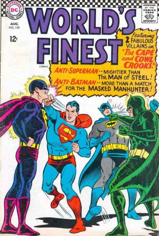 World's Finest Comics #159 VG; DC | low grade comic - save on shipping - details