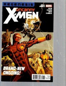 12 Marvel Comics Uncanny X-Men #1 2 3 4 5 6 7 8 9 10 11 12 J448