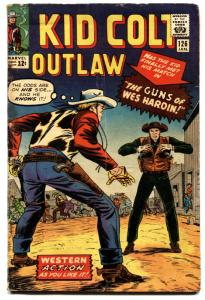 KID COLT OUTLAW #126-comic book 1966-MARVEL-WES HARDIN-