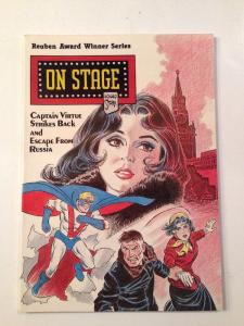 On Stage Tpb Captain Virtue Strikes Back Escape From Russia Leonard Starr