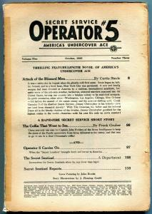 Operator #5 Pulp October 1935- Attack of the Blizzard Men reading copy