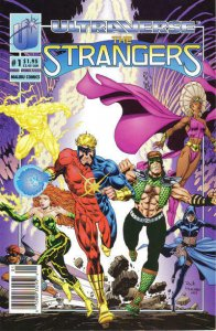 Strangers, The #1 (Newsstand) FN; Malibu | save on shipping - details inside