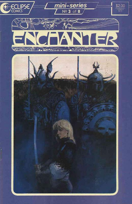 Enchanter #3 VF/NM; Eclipse | save on shipping - details inside