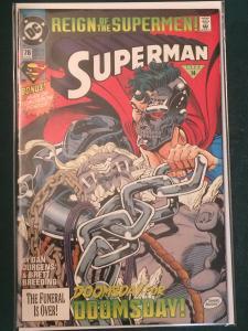 Superman #78 Reign of the Supermen