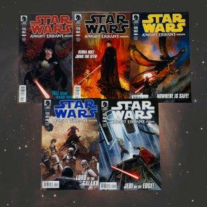STAR WARS: KNIGHT ERRANT - ESCAPE 1-5 COMPLETE SET