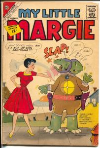 My Little Margie #14 1962-Charlton-sci-fi theme issue-paper dolls-fashion-VG-