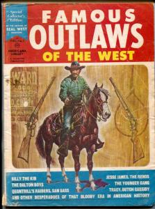 Famous Outlaws Of The West #1 1964- Billy the Kid- Daltons
