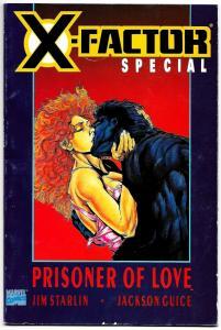 X-Factor Special Prisoner of Love #1 Jim Starlin (Marvel, 1990) FN