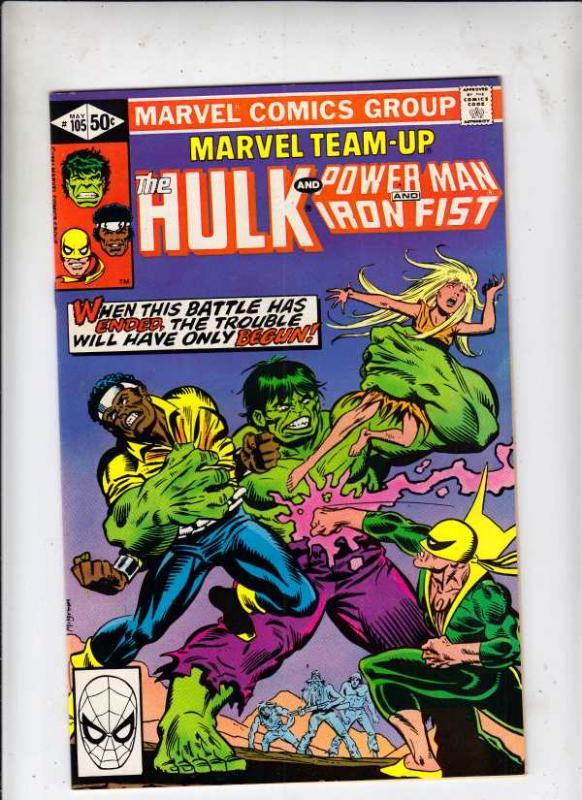 Marvel Team-Up #105 (May-81) NM- High-Grade The Incredible Hulk