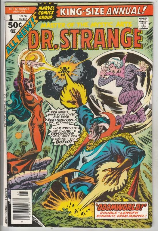 Doctor Strange King-Size Annual #1 (Jan-76) VF/NM High-Grade Dr.Strange