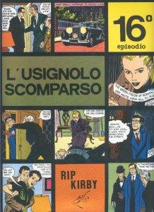 Rip Kirby de Alex Raymond numero 16: L,usignolo scomparso