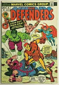 DEFENDERS#9 VG 1973 MARVEL BRONZE AGE COMICS