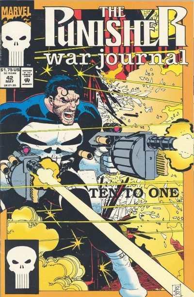 Punisher War Journal (1988 series) #42, NM (Stock photo)