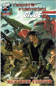 Transformers/G.I. Joe: Divided Front #1 (2004) Figueroa Flint Variant NM
