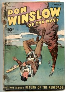 Don Winslow of the Navy #32 1946- low grade Golden Age comic