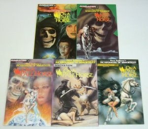 Piers Anthony's Incarnations of Immortality: On A Pale Horse #1-5 VF/NM complete