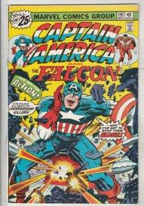 Captain America #197 (May-76) VF/NM High-Grade Captain America