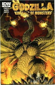 GODZILLA Kingdom of Monsters #5, VF+, Variant, 2011, more Horror in store