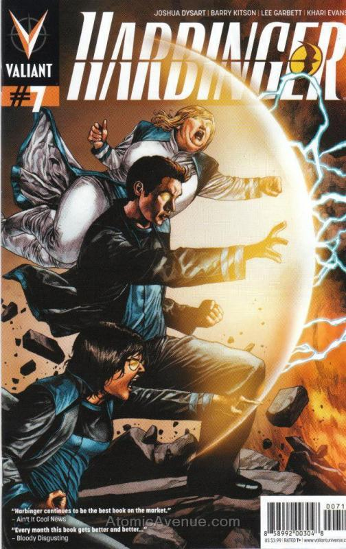 Harbinger (2nd Series) #7 VF/NM; Valiant | save on shipping - details inside