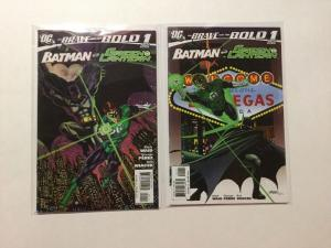 Brave And The Bold 1 & Variant 1 NM Near Mint