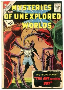 MYSTERIES OF UNEXPLORED WORLDS-#29-ANT BOY VG