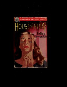 3 Books House of Fury, A Variety of Weapons, Butterfield 8 JL23
