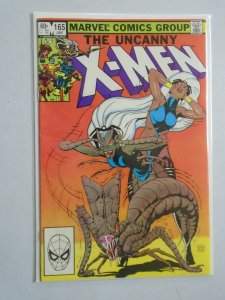 Uncanny X-Men #165 Direct edition 8.0 VF (1983 1st Series)
