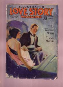 LOVE STORY-PULP-JULY 14 1923-ROMANCE-MARY MEAD-RARE!!! G