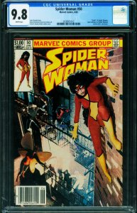 Spider-woman #50 CGC 9.8 Newsstand variant Marvel  2038921012