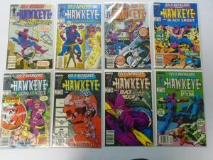 Solo Avengers Hawkeye Set:from:#1-20 all 20 different 8.0 VF (1988)