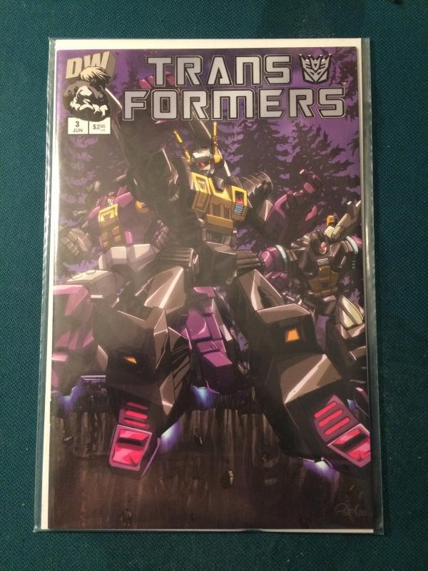 Transformers #3 Vol 1 Dreamwave Productions NM-M