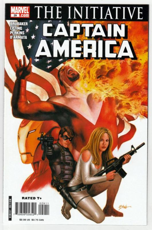 Captain America #29 (Aug-07) NM+ Super-High-Grade Captain America