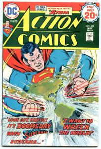 ACTION COMICS #435 1974-HIGH GRADE VF/NM
