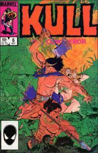 Marvel KULL THE CONQUEROR (1983 Series) #6 VF