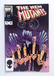 NEW MUTANTS #24, VF/NM, Sienkiewicz, Claremont, Marvel 1983 1985, more in store