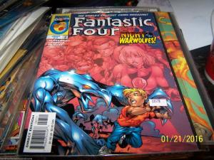 FANTASTIC FOUR   # 7 vol 3  1997 MARVEL  warwolves