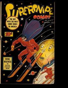 Supersnipe Comics Vol. # 2 # 7 FN- Comic Book Golden Age 1945 Wing Woowoo NE3
