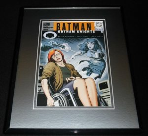 Batman Gotham Knights #6 DC Framed 11x14 Repro Cover Display
