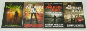 Robert Kirkman's the Walking Dead novels set of (4) woodbury governor rise fall