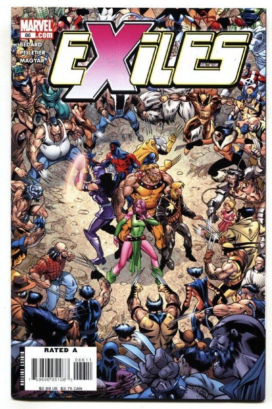 Exiles #86-Hulk / Wolverine mashup character Marvel 2006 NM-