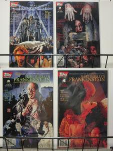 FRANKENSTEIN MARY SHELLEYS 1-4 complete set! W/CARDS