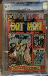 Batman #257 - CGC 8.5 - White Pages - 100 Page Spectacular