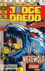 JUDGE DREDD (1986 Q) 25-DIFFERENT, 'HE IS THE LAW!',
