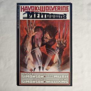 Havok and Wolverine Meltdown 3 Near Mint Written by Walt and Louise Simonson