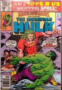 Marvel Super-Heroes Hulk 92