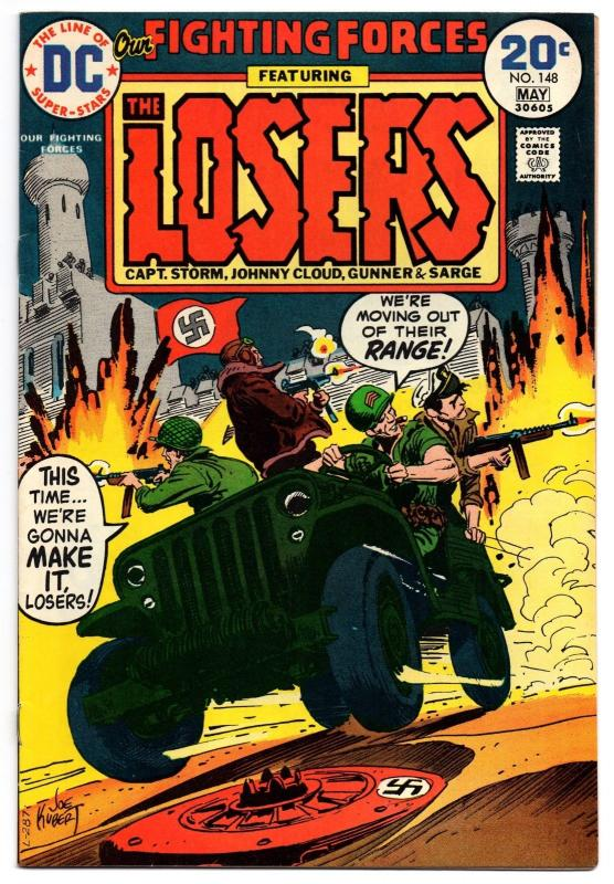 Our Fighting Forces #148 - Very Fine+/Near Mint-