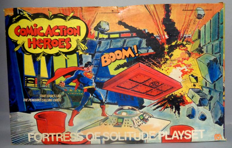 DC Comics,SUPERMAN,Fortress of Solitude Playset,1976,Mego,Comic Action Heroes