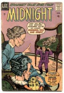 Midnight Comics #6 1958- Ajax horror- G